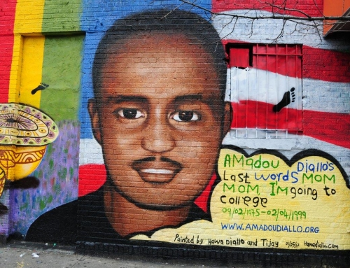 Mural honors man killed in police shooting